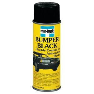 Black Bumper Coating 12 Oz Aerosol