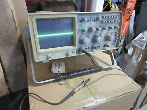Bk Precision 2520 Digital Storage Oscilloscope Good Condition Free Shipping