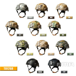 FMA Airsoft Paintball Tactical TWF EX Ballistic Mountaineering Camouflage Helmet