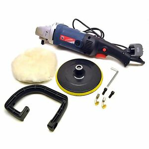 180mm Machine Polisher 1200w Electric Variable Speed Rotary Car Buffer Sil06