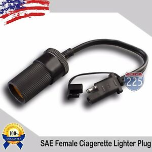 12v Battery Female Car Cigarette Lighter To Waterproof Sae 10 In Charger