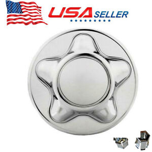 High Quality Replacement For 1997 2004 F150 Center Wheel Hub Cap Chrome 7 Cap