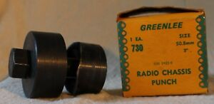 Greenlee 2 Diameter 730 Radio Chassis Knockout Punch