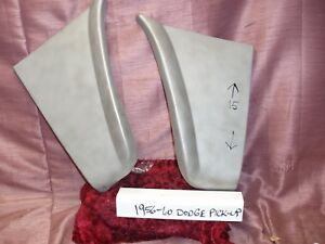 1958 1959 1960 Dodge Truck Lower Rear Section Front Fenders Pair Nors