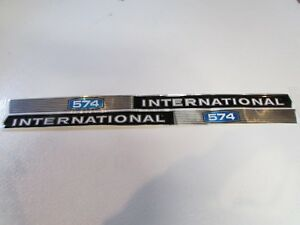 International Ih 574 Tractor Decal Set Stickers Hood Decal