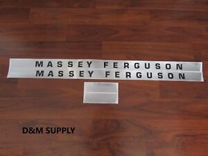 Massey Ferguson 135 Tractor Decal Set Gas 1215 1043