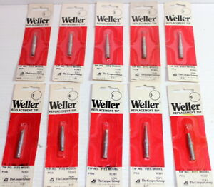10 Pc Weller Ptl8 Soldering Iron Screwdriver Tip 5 64 X 0 8mm Lot Of 10 New