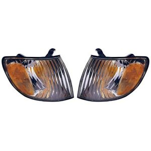 Fits 2001 2002 2003 Toyota Sienna Front Signal Light Pair Nsf To2530138