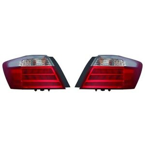 Fits 2013 2014 Honda Accord Ex L Touring Outer Tail Light Pair Nsf Ho2804103