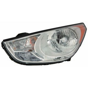 Fits 2010 2011 2012 2013 Hyundai Tucson Driver Side Headlight Nsf