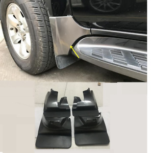 Front Rear Mud Flaps Splash Guard For Toyota Land Cruiser Prado Fj120 2003 2009