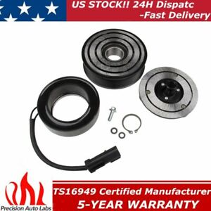 A C Ac Compressor Clutch Assembly Fit For Dodge Ram 5 9 6 7l 2500 3500 2006 2009