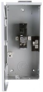 Siemens 200 amp 2 space circuit Outdoor Main breaker box Electrical Panel Switch