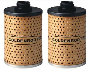 Goldenrod Replacement Fuel Filter Element 470 5 Fits Item 1703 2 Pack