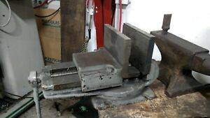 Large Milling Vise With Custom Ground Jaws