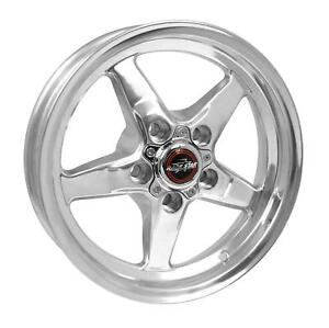 Racestar 92 745242dp Drag Star Wheel Polished 17x4 5 5x4 75 1 75 Back Space