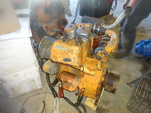 Deutz F2l912 Diesel Engine Rebuilt Top End F2l 912 Ditch Witch Pump Power Unit