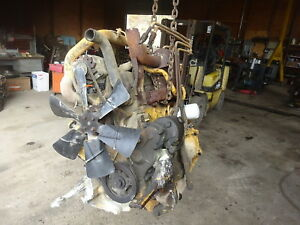 Ford 268 Turbo Diesel Engine Runs Exc Rare 268t Tractor New Holland 755