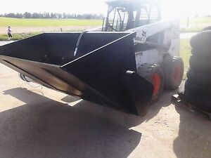 Silt Sock Auger Bucket Skid Steer Bark Blower Mulch Big Money Maker Cheap
