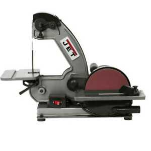 Jet 577003 J 4002 1 3hp 1ph 115v 1 X 42 Bench Belt Disc Sander New