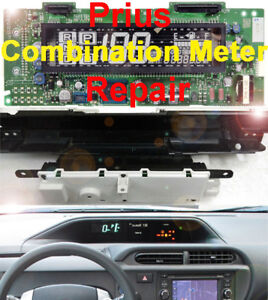 Toyota Prius 2004 2009 Instrument Gauge Cluster Panel Combination Meter Repair