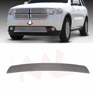 Aal For 2011 12 2013 Dodge Durango Lower Bumper Bolton Billet Grille Insert