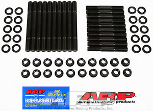 Arp 255 4301 Cylinder Head Studs Pro Series 12 point Nuts Ford Svo 460 Block