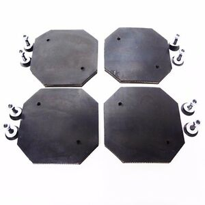 Heavy Duty Rubber Arm Pad For Rotary Revolution Lift Set Of 4 Pads Rtp9 Rtp10