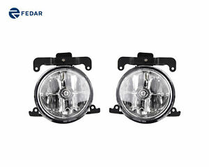 Clear Lens Fog Lights Driving Lamps Pair Kit For 2003 2006 Hyundai Accent