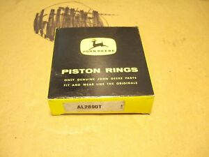 Nos Vintage John Deere L Li Piston Ring Kit Std Al2890t