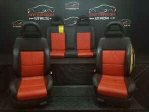 2002 Vw Beetle type 1 Set Of Front Rear Leather Seats Trim Code Qf notes
