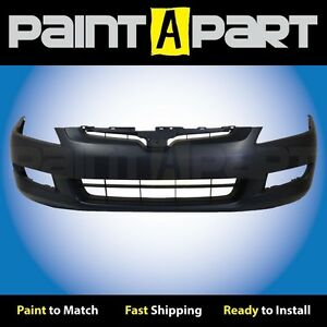 2003 2004 2005 Honda Accord Coupe 3 0l 6cyl Front Bumper Premium Painted