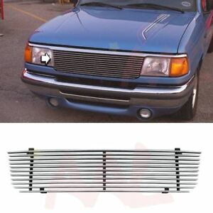 Aal 1993 1994 95 1996 1997 Ford Ranger Replacement Cut Out Billet Grille Insert