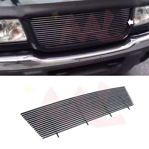 Aal 1998 1999 2000 Ford Ranger Cutout Upper Polished Billet Grille Insert