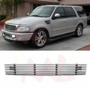 Aal 1997 1998 Ford Expedition Bumper Replacement Billet Grille Insert