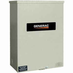 Generac 200 amp Automatic Smart Transfer Switch W Power Management
