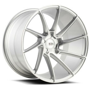 22 Savini Bm15 Silver Concave Wheels Rims Fits Chrysler 300 300c 300s