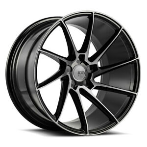 20 Savini Bm15 Tinted Concave Directional Wheels Rims Fits Jaguar Xkr