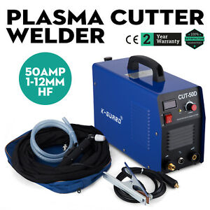 Cut 50d Air Plasma Cutter Dc Inverter Plasma Cutting Machine 50amp Portable