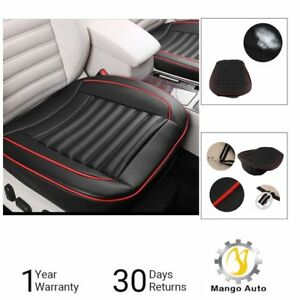 Universal Breathable Pu Leather Bamboo Car Seat Cover Pad Mat Auto Chair Cushion