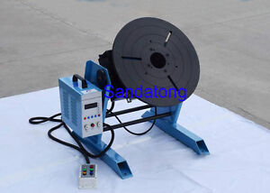 Cnc 100kg Welding Positioner Turntable Timing Function With 300mm Chuck 110v
