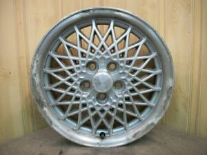1998 99 Chevrolet Cavalier 15 Inch Alloy Web Design Aluminum Wheel Rim 12361599