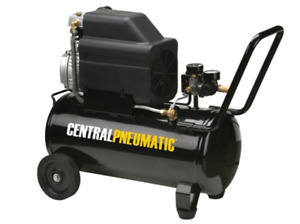 8 Gal 2 Hp 125 Psi Oil Lube Air Compressor Auto Shop Garage Tire Tools