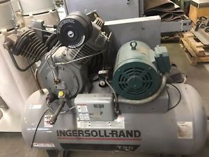 Ingersoll Rand T30 Electric Horizontal 2 Stage 15hp Air Compressor 7100