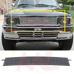 Aal For 1992 93 94 1995 Toyota Tacoma 4wd Upper Billet Grille Insert Replacement