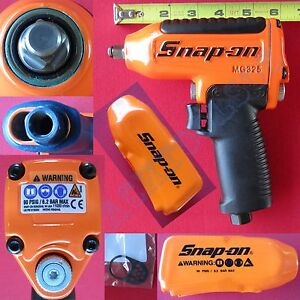 New Snap On Orange 3 8 Superduty Magnesium Housing Std Anvil Impact Wrench Mg325
