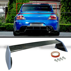 For 03 07 Lancer Evo 7 8 9 Carbon Fiber Dock Fiberglass Paintable Side Stands