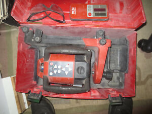 Hilti Pr 25 If W Pa 350 Laser Detector Rotating Laser Level Works Great W Case