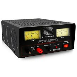 Pyramid Bench Power Supply Ac to dc Power Converter 32 Amp Power Supply W
