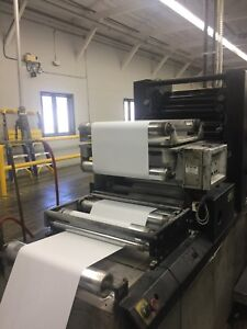 Didde Color Form Web Printing Press